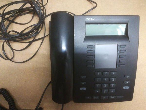 Agfeo ST30 ISDN Systemtelefon schwarz