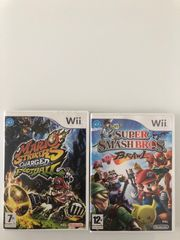Nintendo wii mario strikers smashbros