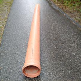 3 PVC Kanalrohr SN4 DN300/5000mm