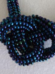 Kette Halskette Schmuck Perlen multicolor