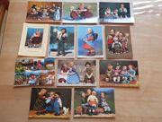 12 Postkarten Elli Riehl Puppen