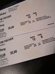 2 Tickets TIM FISCHER Zeitlos