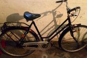Schönes Amsterdamrad in Kirchrot 28