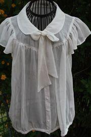 neuwertige weiße Bluse von UNQ
