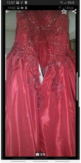 verlobungskleid hennakleid ballkleid: Kleinanzeigen aus Mutterstadt - Rubrik Festliche Abendbekleidung, Damen und Herren