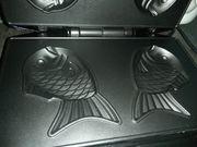 Waffeleisen Fisch Form