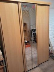 Kleiderschrank 3Türig mit Spiegel