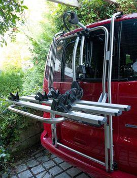 Fahrrad-, Dachgepäckträger, Dachboxen - Fahrradträger VW T5 Multivan California