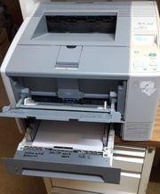 HP Laserdrucker für Netzwerk Profigerät