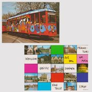 2 Postkarten Grüße aus Frankfurt
