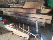 Balkenholz alte Balken Baubalken