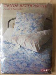 Bettwäsche und Spannbentuch