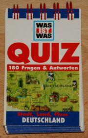 NEU - Quiz-Block - Deutschland - Lernen - Spiel -