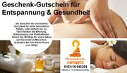Massage Termine oder Geschenk Gutscheine