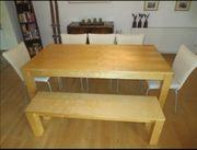 Großer Tisch Inklusive Sitzbank und