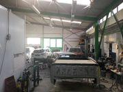 Kfz Werkstatt - Autolackiererei - Lager Produktionshalle