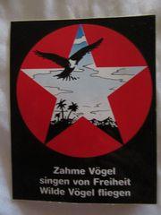 Sticker Aufkleber 10x13 Vögel Freiheit
