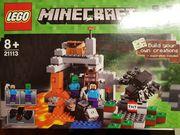 Lego Minecraft 21113 mit Zusatzfiguren