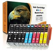 10 Druckerpatronen für Canon PGI-570