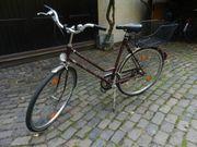Damenrad verkehrssicher ausgerüstet zu verkaufen -