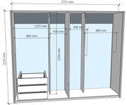 Schwebetürenschrank SKOP 2-türig Spiegel
