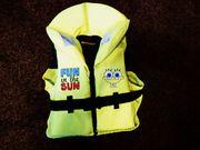 Rettungsweste Schwimmweste für Kinder SpongeBob