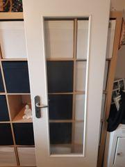Küchentür mit Glaseinsatz 70 cm