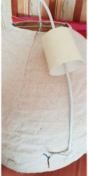 Stofflampe beige siehe Fotos