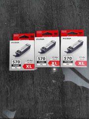 Canon Tintenpatronen PGI-570 XL PGBK -