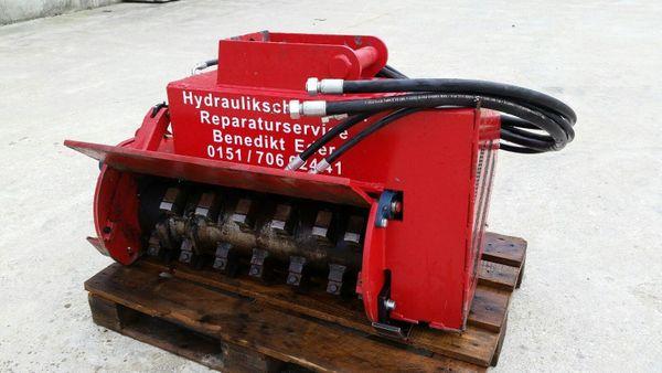 Forstmulcher Minibagger Bagger Mulcher Ms03