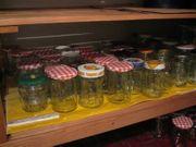 Marmeladen Gläser zu verkaufen