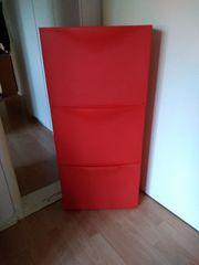 Roter Ikea Schuh Allzweckschrank 3