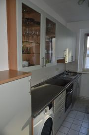 Küchenzeile inkl Backofen und Ceranfeld