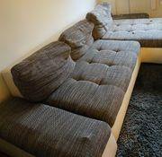 Couch L Form ausziehbar Schlafcouch
