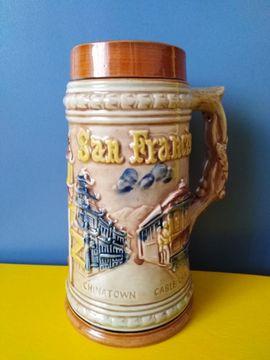 Bierkrug San Francisco Golden Gate: Kleinanzeigen aus Ispringen - Rubrik Sonstige Sammlungen