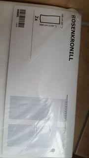 Ikea ROSENKRONILL Gardinenpaar in weiß