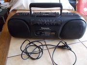Panasonic Kasetten Rekorder Radio Rekorder