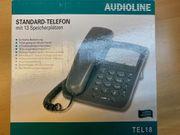 Tischtelefon AUDIOLINE Tel 18 analog
