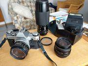 Für Freunde der Kleinbild-Fotografie Canon-Spiegelreflexkamera
