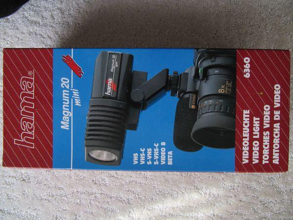 Hama Magnum 20 Mini Videoleuchte -