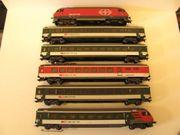 SBB Intercity Zug Set der