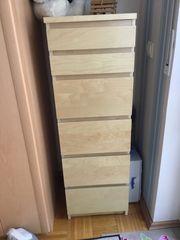 Ikea Kommode Malm Birke