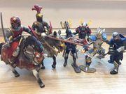 Viele Schleich Ritter und Katapult