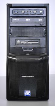 PC - Miditower - 1 SSD 1 HDD