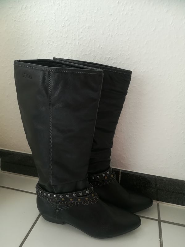 Neue S.Oliver Stiefel zu verkaufen in Bochum Schuhe
