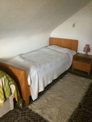 Bett mit Nachttisch Mit Matratze