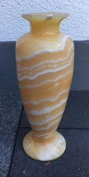 Alabaster Vase aus ägyptischem Alabaster