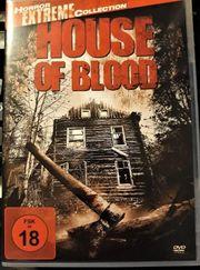 HOUSE OF BLOOD HORROR DVD