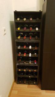 Dekorative Weinkisten Weinregal
