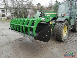 Traktoren, Landwirtschaftliche Fahrzeuge - Krokodilschaufel NEU 2 4m Schaufel